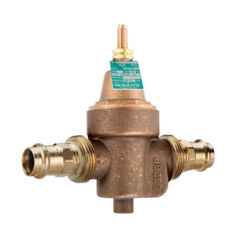 "LFN55BM1 - 3/4"" Copper Press Water Pressure Reducing Valve (Lead Free) Product Image"