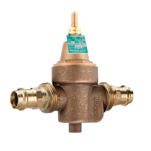 "LFN55BM1 - 1"" Copper Press Water Pressure Reducing Valve (Lead Free) Product Image"