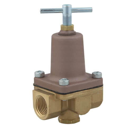 "1/2"" LF26A 2-Way Small Water Pressure Regulator, 10-125 PSI (Lead Free) Product Image"