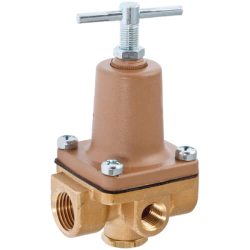 "1/2"" LF263A 3-Way Small Water Pressure Regulator, Lead Free (1-25 PSI) Product Image"
