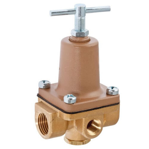 """LF263A - 1/2"""" NPT 3-Way Small Water Pressure Regulator, 10-125 psi (Lead Free) Product Image"""