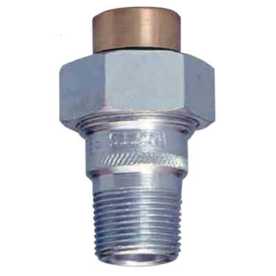 "1/2"" LF3005A Male x Sweat Dielectric Union (Lead Free) Product Image"