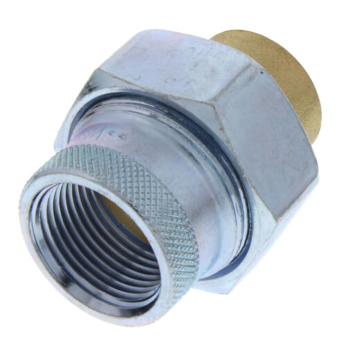 "3/4"" LF301 FxSweat Dielectric Union w/ EPDM Gasket, Lead Free Product Image"