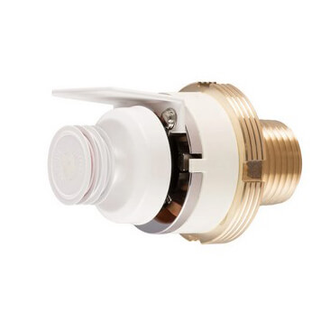 HF-RES Flush Horizontal Sidewall Sprinkler (SS4423), 4.2K, 162°F - White - Head Only Product Image