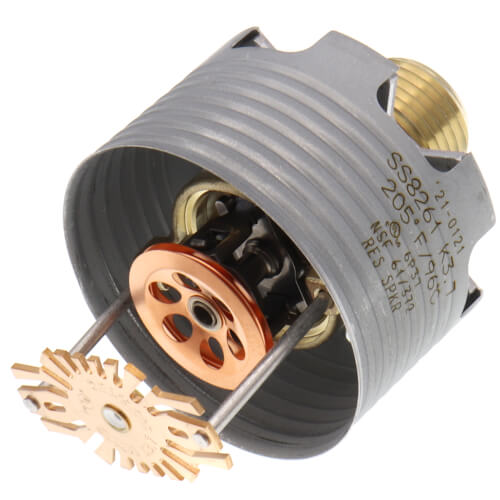 RC-RES Flat Concealed Sprinkler (SS8261), Pendent, 3.7K, 205°F - Head Only Product Image