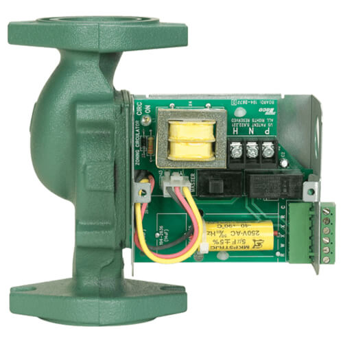"""0012 Cast Iron Priority Zoning Circulator w/ Integral Flow Check, 1/8 HP, 1-1/2"""" Flanges Included Product Image"""