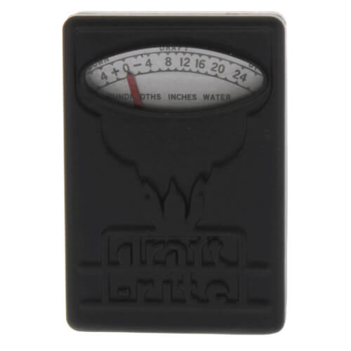 "Draftrite Pocket Gauge (+0.05 to 0 to -0.25"" WC) Product Image"