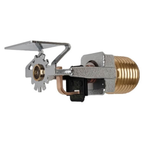 FR-QR Horizontal Sidewall Sprinkler (SS2553), QR, 5.6K, 162°F - Chrome - Head Only Product Image