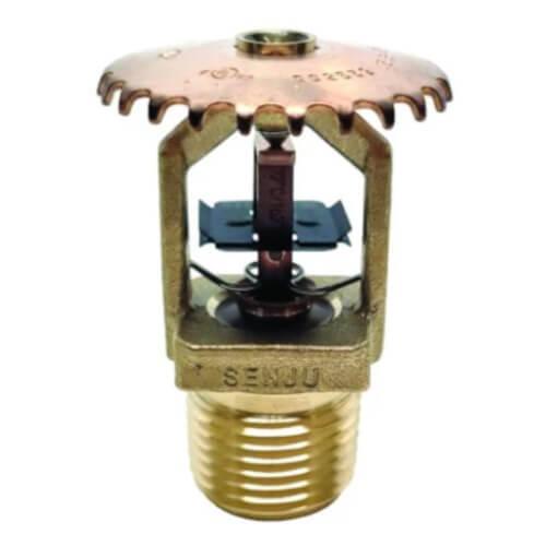 FR-QR Upright Sprinkler (SS2552), QR, 5.6K, 205°F - Brass - Head Only Product Image