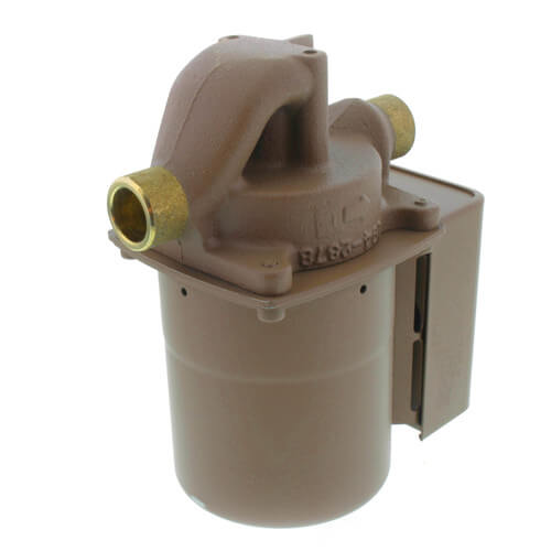 "003-BC4 Bronze IFC Circulator (1/2"" Sweat) 1/40 HP Product Image"