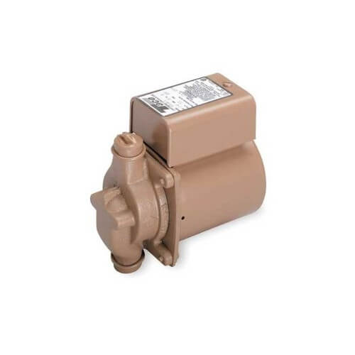 "006 Variable Speed Solar Control Bronze Circulator (3/4"" Sweat) 1/40 HP Product Image"