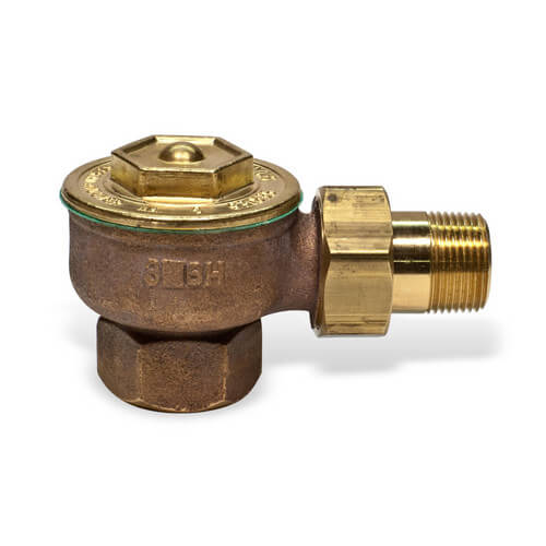 "1 GAP, 1/2"" Angle Radiator Steam Trap Product Image"