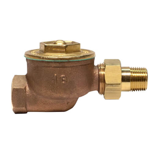 "1GSW, 1/2"" Straight Radiator Steam Trap Product Image"