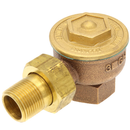 """3GH, 3/4"""" Angle Radiator Steam Trap Product Image"""