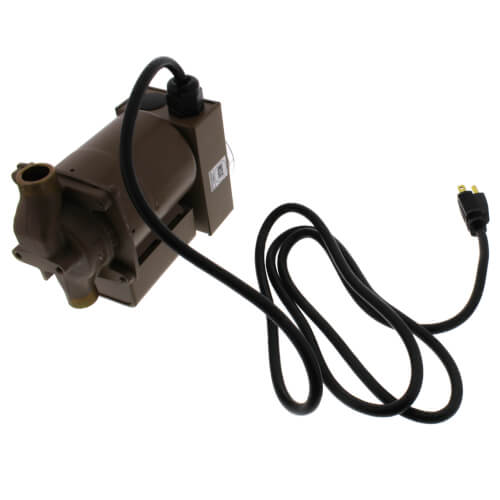 "006 Plumb n' Plug Pump w/ Line Cord and Analog Timer, 1/40 HP (1/2"" Sweat) Product Image"