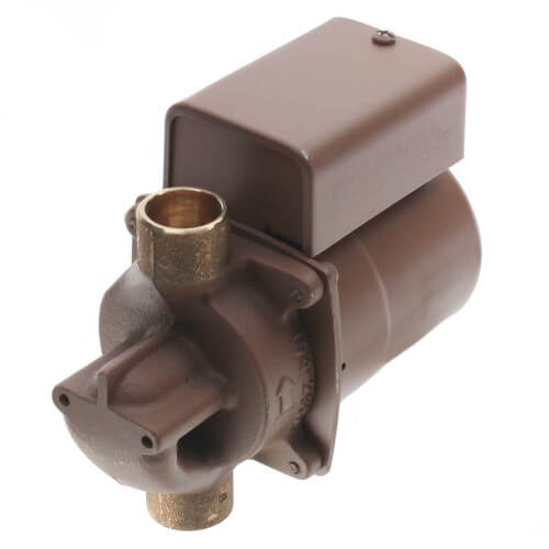 "006 (3/4"" Sweat) Taco Bronze Circulator w/ Integral Flow Check, 1/40 HP Product Image"