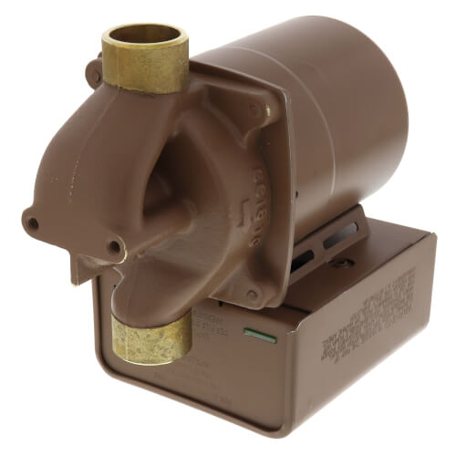"006 Bronze Priority Zoning Circulator w/ Integral Flow Check, 1/40 HP, 3/4"" Sweat Product Image"