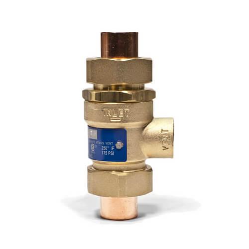 "BBFP, 1/2"" CxC Backflow Preventer Product Image"