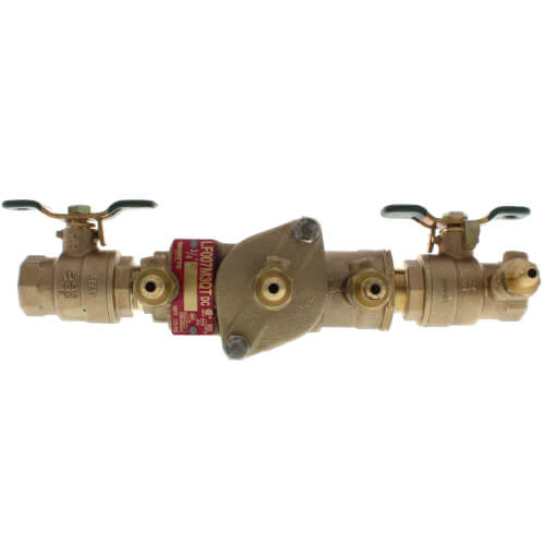 "3/4"" Lead Free Double Check Valve Assembly (LF007M3-QT) Product Image"