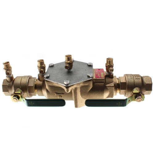 """1-1/4"""" Lead Free Double Check Valve Assembly (LF007M2-QT) Product Image"""