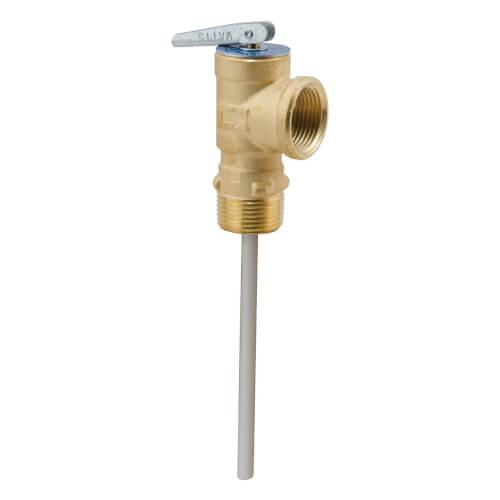 "100XL-125210 3/4"" Self Closing T & P Relief Valve w/ Test Lever (125 PSI, 210 F) Product Image"