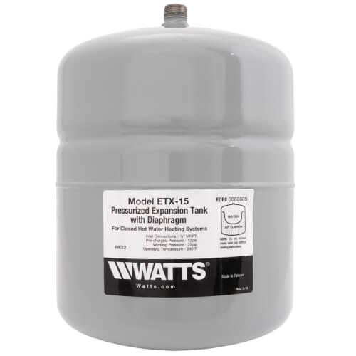 ETX-15, 2.1 Gallon Non-Potable Water Expansion Tank Product Image