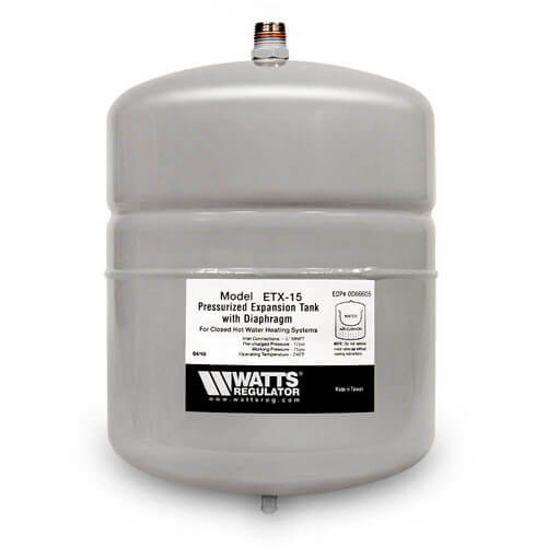 ETX-15, 2.1 Gallon Non-Potable Water Expansion Tank Product Image
