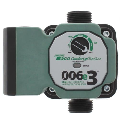 006e3 ECM High-Efficiency Hot Water Circulation Pump Product Image