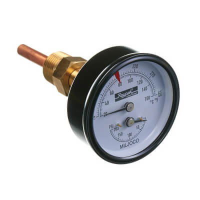 T&P Gauge 60 to 320F, 0 to 230 PSI Product Image