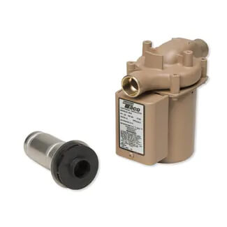 "008 (3/4"" Sweat) Taco Bronze Circulator, 1/25 HP (115V) Product Image"
