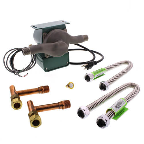 "TacoGenie 008-CT-USK Pump with Under Sink Kit, 1/25 HP (1/2"" NPT) Product Image"
