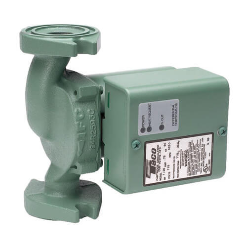 009 Variable Speed Delta-T Cast Iron Circulator Pump, 115V Product Image