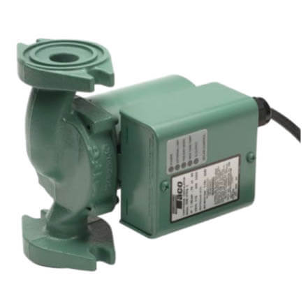 008 Taco Rotated Flange Variable Speed Solar Control Cast Iron Circulator Product Image
