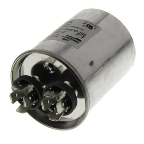 5 MFD Round Run Capacitor (370V) Product Image