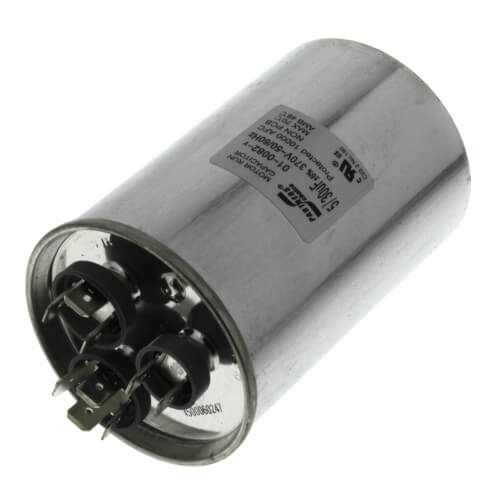 30/5 MFD Dual Capacity Round Capacitor (370V) Product Image