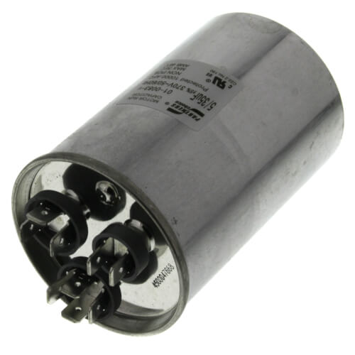 35/7.5 MFD Round Run Capacitor (370V) Product Image