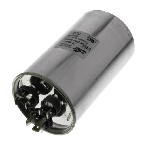 45/5 MFD Round Capacitor (370V) Product Image