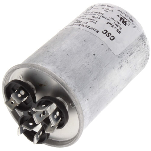 35/5 MFD Round Capacitor (440V) Product Image