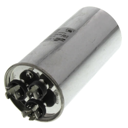 40/5 MFD Round Dual Capacity Capacitor (440V) Product Image