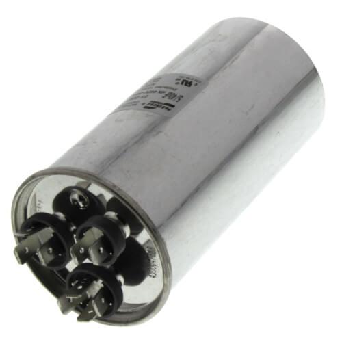 40/5 MFD Round Dual Capacity Capacitor (440V) Product Image