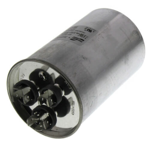 50/7.5 MFD Round Run Dual Capacitor (370V) Product Image