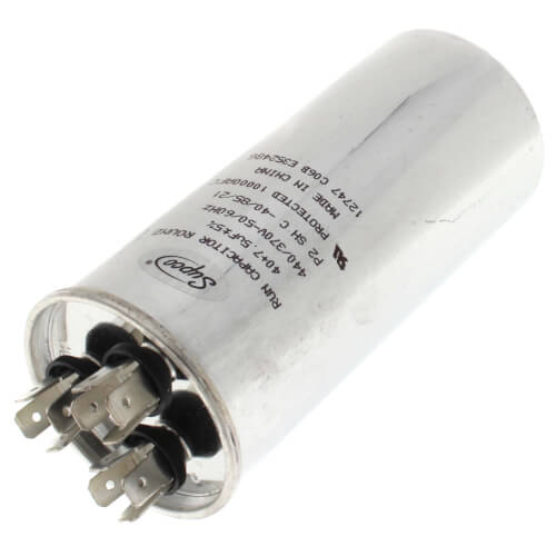 40/7.5 MFD Dual Round Capacitor (440V) Product Image