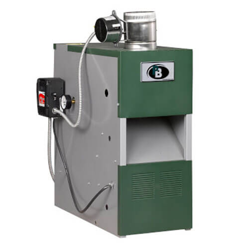 MI-03 - 50,000 BTU Output Intermittent Ignition Packaged Residential Water Boiler (Nat Gas) Product Image