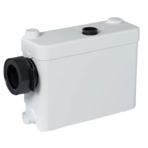 Sanipack Macerating Pump for In-Wall Frame System (White) Product Image