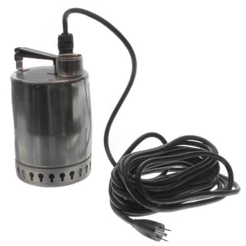 "KP150 Sump Pump - 1/4 HP, 25ft power cord, 3/8"" solids handling Product Image"