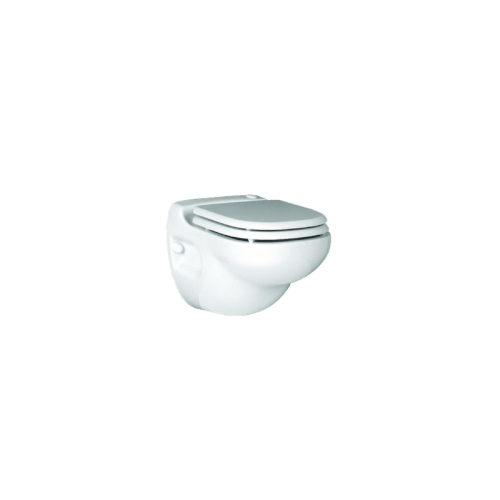 Sanistar Wall Hung Macerating Toilet Complete with Carrier (White) Product Image
