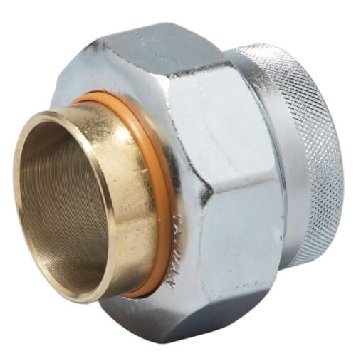 1-1/4 LF3001-GB Dielectric Union with Epdm Gaskets, Lead Free Product Image