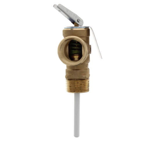 "3/4"" LF10L-2, T & P Relief Valve, Lead Free - 125 psi Product Image"