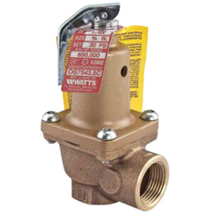 """3/4"""" Series LF174A Boiler Pressure Relief Valve (50 psi) Product Image"""