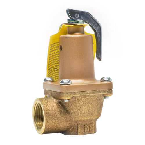 "3/4"" LF174A Lead Free Relief Valve (75lb) Product Image"
